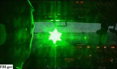 Heavy Sentences for Pointing Lasers at Aircrafts